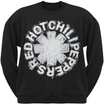 Red Hot Chili Peppers - Asterisk Sketch Crew Neck Sweatshirt