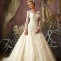 New white/ivory Wedding dress Bridal Gown custom size 6-8-10-12-14-16-18-20++