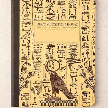 Decomposition Book Hieroglyphics Notebook- Beige One