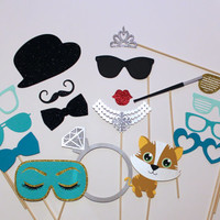 Complete Breakfast at Tiffany's Collection - Beautiful Handcrafted Photo Booth Props