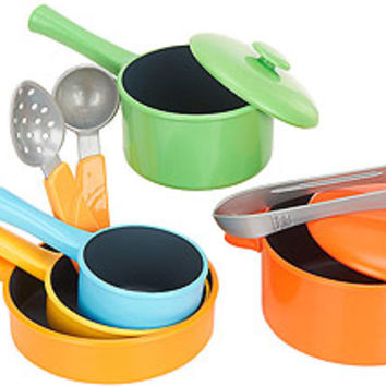 Just Like Home 10 Piece Everyday Cookware Set