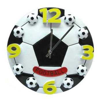 Creative World Cup football living room the bedroom wall clock fashion modern clocks decoration clock mute wall clock Gift