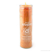 Sacral Chakra Candle on Sale for $12.95 at HippieShop.com