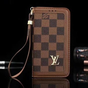 Louis Vuitton Phone Cover Case For Samsung Galaxy s8 s8 Plus S9 S9 Puls note 8 note 9 iphone 6 6s 6plus 6s-plus 7 7plus 8 8plus iPhone X XS XS max XR-2