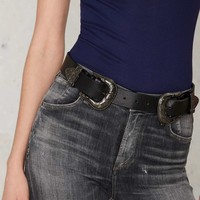 B-Low the Belt Bri Bri Leather Belt - Gunmetal