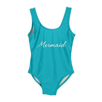 Mermaid Women's One Piece Swimsuit