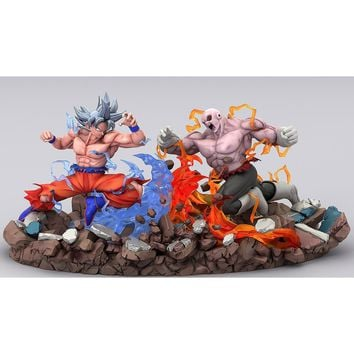 Dragon Ball Super: Goku Ultra Instinct Vs Jiren Final Battle Diorama Resin Statue