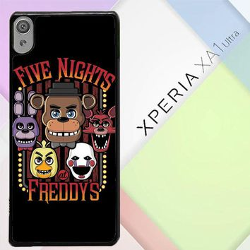 Five Nights At Freddy'S Characters Z4221 Sony Xperia XA1 Ultra Case