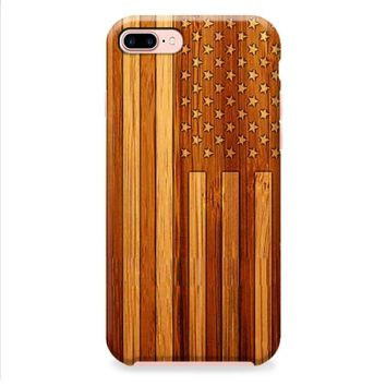 American Flag Wood iPhone 8 | iPhone 8 Plus Case