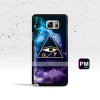 The Eye of Horus Case Cover for Samsung Galaxy S3 S4 S5 S6 S7 Edge Plus Active Mini Note 3 4 5 7