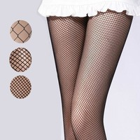 MDIGGB2 2015 New Women Sexy Fishnet Stockings Fishing Net Pantyhose Ladies Mesh Lingerie For Female