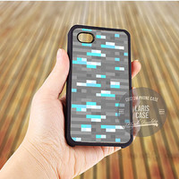Minecraft inspired Ore diamond case for iPhone 5,5s,5c,4,4s,6,6+/iPod 4th 5th/Samsung Galaxy S3,S4,S5/Note 2,3/HTC One/LG Nexus