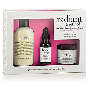 philosophy radiant & refined set