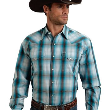 Stetson Hunter's Plaid Two Pocket Snap Shirt