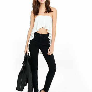 Trapeze Hi Lo Tube Top from EXPRESS