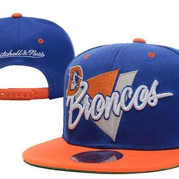 PEAPON Denver Broncos Snapback NFL Football Cap M&N