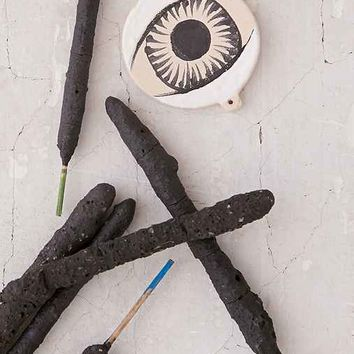 Species By The Thousands Ceramic Eye Incense Set- White One