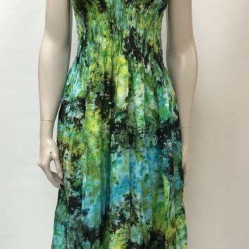 Tie and dye dress