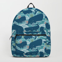 Aquatic Life Backpack by Heather Dutton