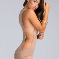 Ladders Out Cut-Out Bodycon Dress