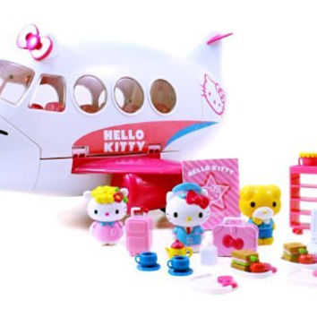 Jada Toys Hello Kitty Jet Plane Play Set