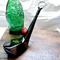Golf Bottle Opener -- Spalding 'Sink-It' 3 Wood -- Golf Gift