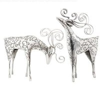 Christmas Reindeer Decor Set/2 - Regal Art #20091