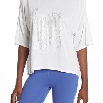 Betsey Johnson | Love Short Sleeve Knit T-Shirt | Nordstrom Rack