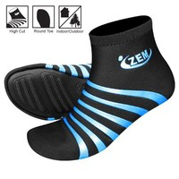 ZEMgear Playa Round Toe High Footwear