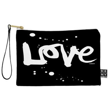 Kal Barteski Love Black Pouch