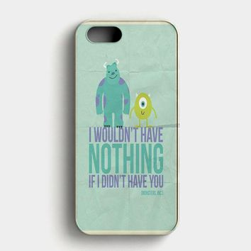 Monsters Inc iPhone SE Case