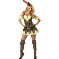 InCharacter Costumes Womens Racy Robin Hood Halloween Party Dress Costume