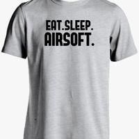 Airsoft Shirt-Eat Sleep Airsoft Tshirt