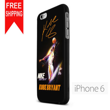 Kobe Bryant Slum Dunk Just Do It iPhone 6 Case
