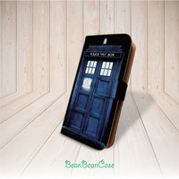 Tardis door doctor who flip pu leather cover case for iPhone 6, 6 plus, iPhone 5C 5S 5 4 4S, moto X, samsung galaxy S5 S4 S3 Note 3 4 (K19) from BeanBeanCase