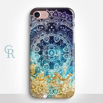 Mandala iPhone X Case For iPhone 8 iPhone 8 Plus - iPhone X - iPhone 7 Plus - iPhone 6 - iPhone 6S - iPhone SE - Samsung S8 - iPhone 5