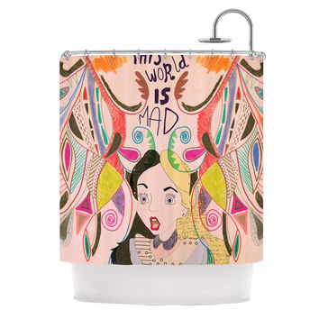 "Vasare Nar ""Alice in Wonderland"" Shower Curtain"