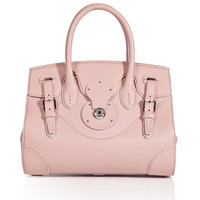 Ralph Lauren Collection - Leather Soft Ricky Tote in Rose