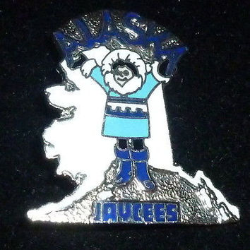 Alaska Jaycees Eskimo Pin