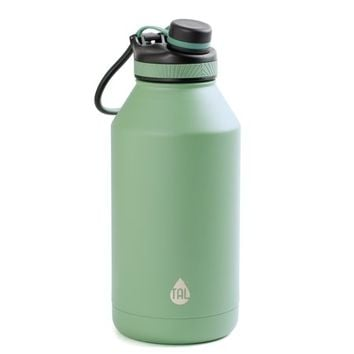 Tal 64 Ounce Double Wall Vacuum Insulated Stainless Steel Ranger Pro Teal Water Bottle - Walmart.com