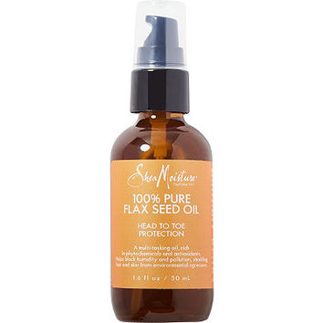 SheaMoisture 100% Pure Flax Seed Oil | Ulta Beauty