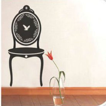 Wall Art - Victorian Chair & Birds