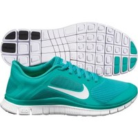 Nike Women's Free Run 4.0 Running Shoe - Turquoise/White | DICK'S Sporting Goods