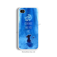 iPhone 4, 4s, 5, 5s, 5c & Samsung Galaxy S3, S4 Cases | Walt Disney, The Lion King, Simba, Quote iPhone 5 Case