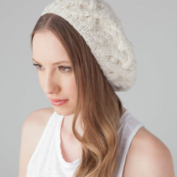 EUGENIA KIM Jamie Beret in Cream