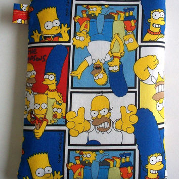 The Simpsons Kindle Cover / Homer Simpson Nook Case / Ereader Sleeve / Tablet