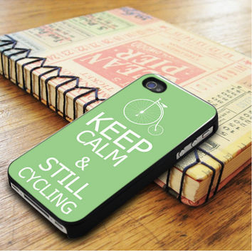 Keep Calm And Still Cycling iPhone 5 | iPhone 5S Case