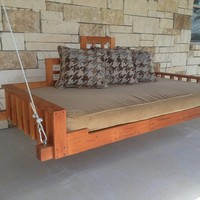 Christianson Mahogany Swing Bed