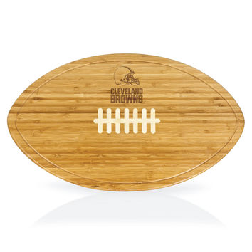 Cleveland Browns - Kickoff Football Cutting Board & Serving Tray