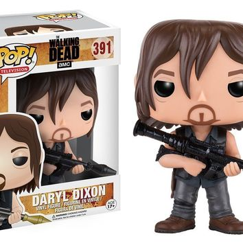 Funko Pop TV Walking Dead Daryl Rccket Launcher 391 11065